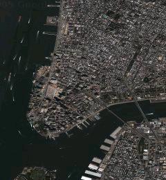 Satelitska slika New Yorka