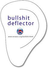 Bullshit deflector - ovo vam treba za čitanje stavaka 1 i 2 ovog teksta