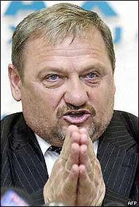 Akhmad Kadyrov,The (former/late) President of Chechnya