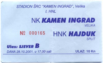 Kamen Ingrad: Hajduk