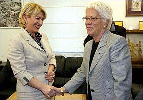 Vesna Škare Ožbolt i Carla del Ponte