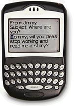 Blackberry poruka