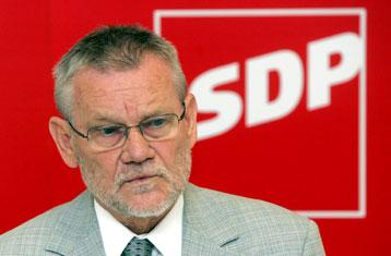 Ivica Račan, predsjednik SDPa
