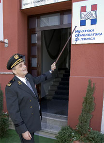 Branimir Glavaš ispred Osiječkog HDZa