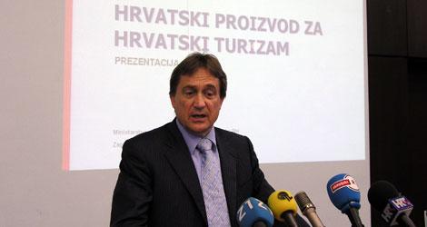 Božidar Kalmeta, ministar turizma, pomorstva prometa i veza