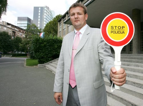 Ivica Kirin, Croatian minister of interior