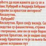 Andrija Hebrang: što je doista rekao NINu
